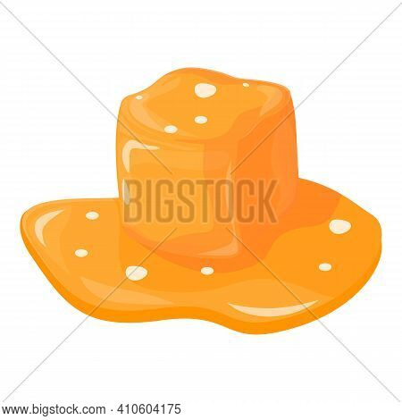 Flavor Salted Caramel Icon. Cartoon Of Flavor Salted Caramel Vector Icon For Web Design Isolated On
