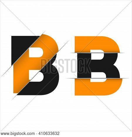 Letter B Logo Template Vector. B Monogram Logo Vector. B Symbol Vector.