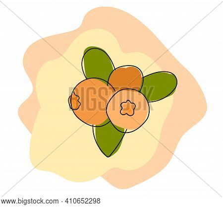 Abstract Nightshade Vector Illustration. For Web-design, Posters, Prints Decorations