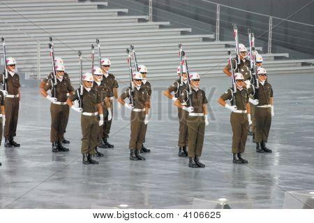 Military Police Precision Drills
