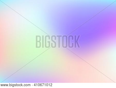 Gradient Mesh Abstract Background. Spectrum Holographic Backdrop With Gradient Mesh. 90s, 80s Retro