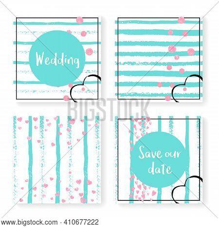 Valentine Backdrop. Stripe Xmas Card. White Textile. Turquoise Dream Offer. Decorative Wallpaper Set