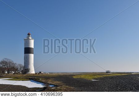Early Spring At The Ottenby Lighthouse On The Island Oland In Sweden