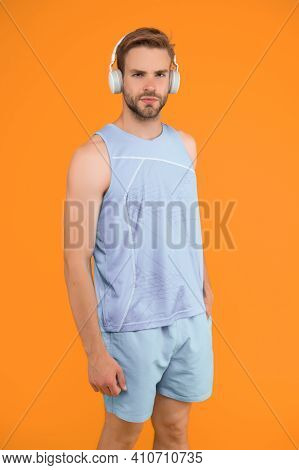 Sport Is Better With Music. Workout Comfortable With Favorite Track List. Wireless Headphones For Sp