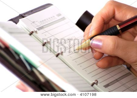 Writing On Agenda