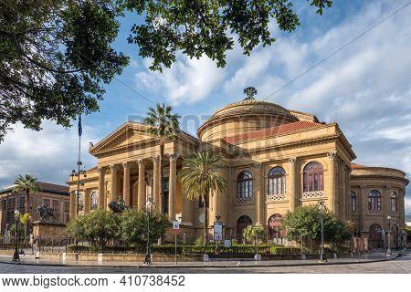 Teatro Massimo in Palermo, Sicily, Italy