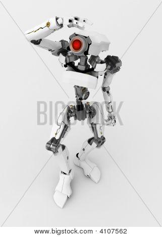 Slim Robot, Looking