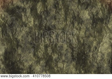 Nice Yellow Wethered Stonework Digital Graphic Background Or Texture Illustration