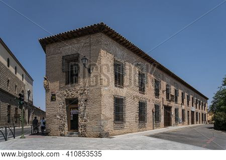 Toledo, Spain, July 2020 - Ancient Architecture In The City Of Toledo, Spain
