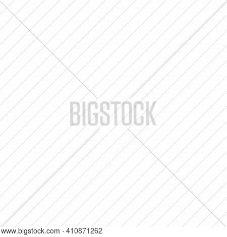 Diagonal Lines Pattern Background. White Background With Gray Diagonal Lines Vector Eps 10