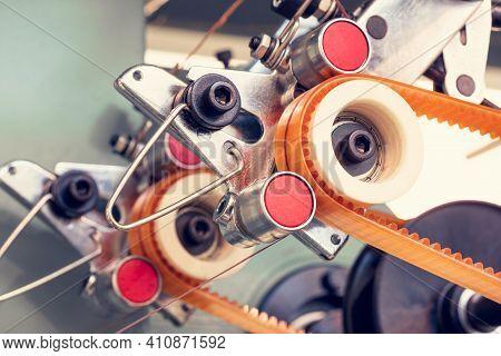Sewing Equipment, Loom Equipment At A Garment Factory