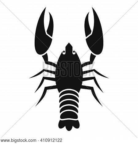 Lobster Animal Icon. Simple Illustration Of Lobster Animal Vector Icon For Web Design Isolated On Wh