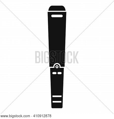 Metal Detector Stick Icon. Simple Illustration Of Metal Detector Stick Vector Icon For Web Design Is