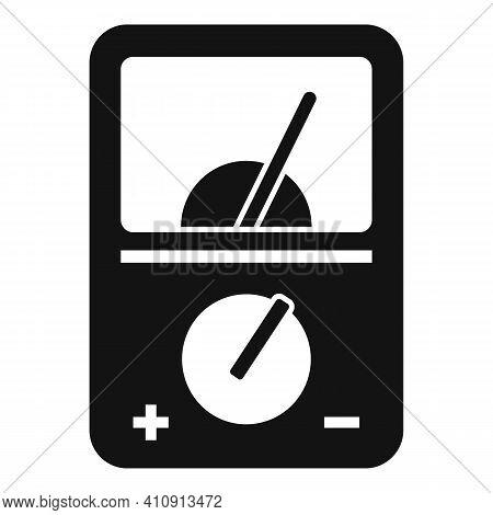 Radio Multimeter Icon. Simple Illustration Of Radio Multimeter Vector Icon For Web Design Isolated O