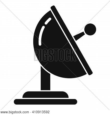 Radio Ground Antenna Icon. Simple Illustration Of Radio Ground Antenna Vector Icon For Web Design Is