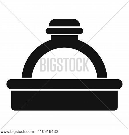 Jeweler Ring Icon. Simple Illustration Of Jeweler Ring Vector Icon For Web Design Isolated On White