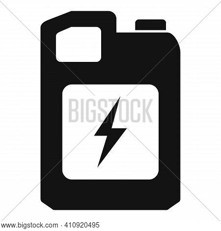 Oil Canister Icon. Simple Illustration Of Oil Canister Vector Icon For Web Design Isolated On White
