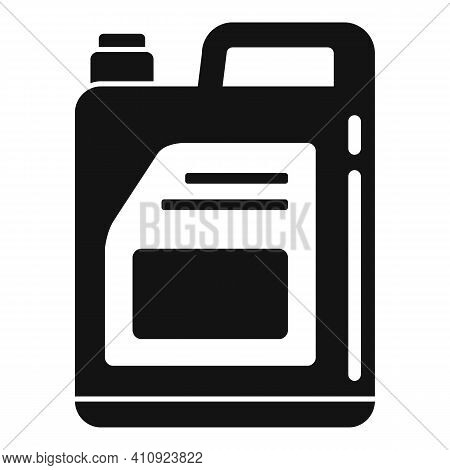 Car Oil Canister Icon. Simple Illustration Of Car Oil Canister Vector Icon For Web Design Isolated O