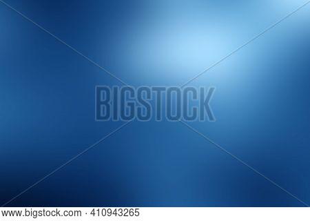 Dark Smooth Blue Gradient Abstract Blur Background