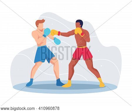 Boxing Sport Illustration Concept