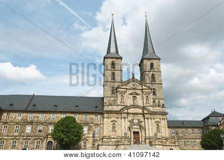 Michaelsberg Abbey In Bamberg