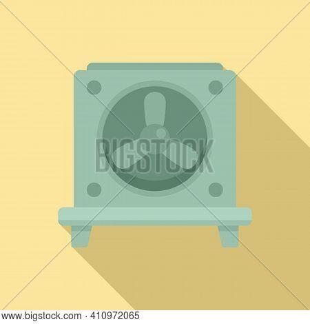 Ventilation Fan Stand Icon. Flat Illustration Of Ventilation Fan Stand Vector Icon For Web Design