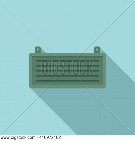 Cool Ventilation Icon. Flat Illustration Of Cool Ventilation Vector Icon For Web Design