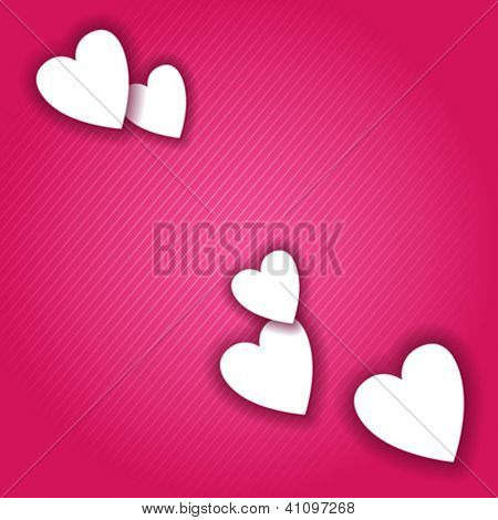 Valentines day card vector background eps 10