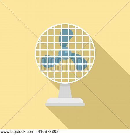 Frame Ventilator Icon. Flat Illustration Of Frame Ventilator Vector Icon For Web Design