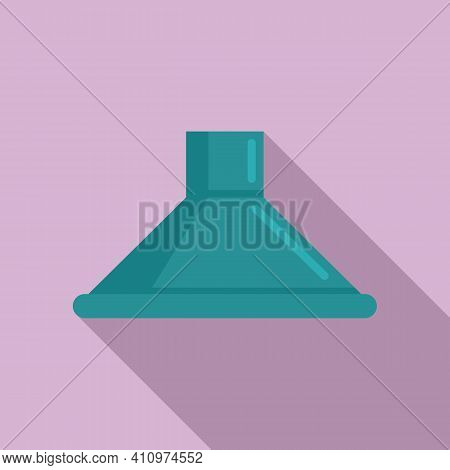 Climate Ventilation Icon. Flat Illustration Of Climate Ventilation Vector Icon For Web Design