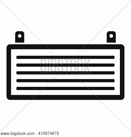 Cool Ventilation Icon. Simple Illustration Of Cool Ventilation Vector Icon For Web Design Isolated O