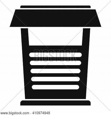 House Ventilation Icon. Simple Illustration Of House Ventilation Vector Icon For Web Design Isolated