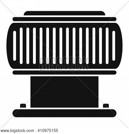Ventilation Filter Icon. Simple Illustration Of Ventilation Filter Vector Icon For Web Design Isolat