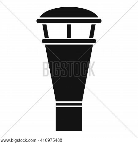 Ventilation Chimney Icon. Simple Illustration Of Ventilation Chimney Vector Icon For Web Design Isol