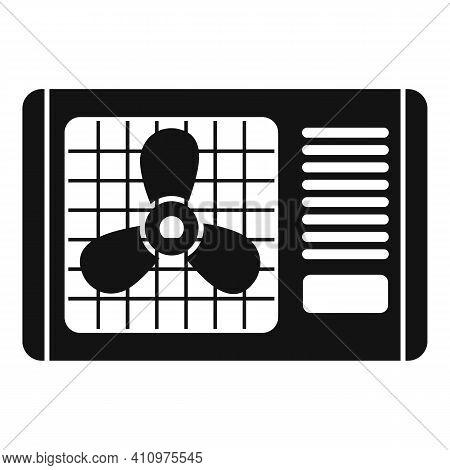 Outdoor Ventilation Icon. Simple Illustration Of Outdoor Ventilation Vector Icon For Web Design Isol