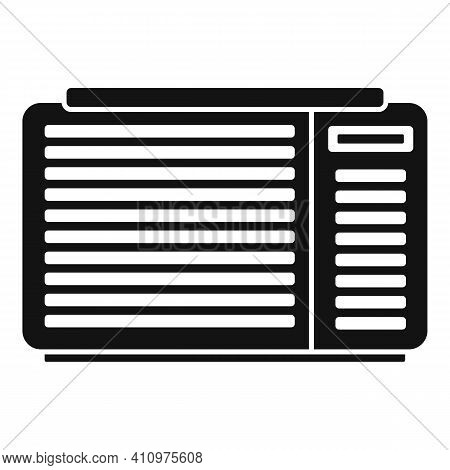 Air Ventilation Icon. Simple Illustration Of Air Ventilation Vector Icon For Web Design Isolated On