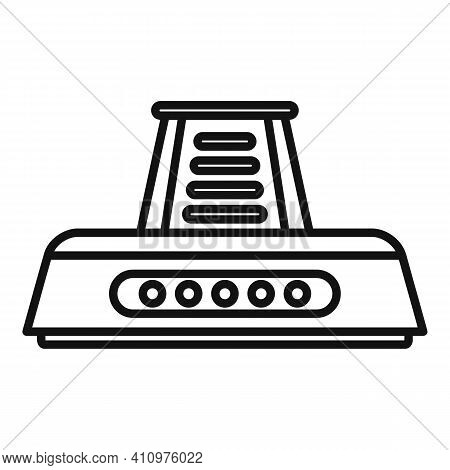 Electric Kitchen Ventilation Icon. Outline Electric Kitchen Ventilation Vector Icon For Web Design I