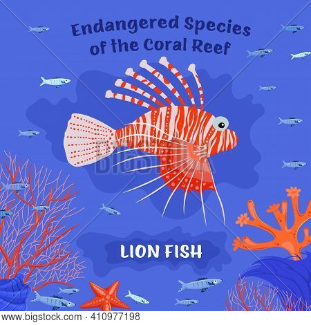 Coral Reef Inhabitants. Endangered Fish Species. Threatened Fish Stocks. Lionfish. Save The Ocean Co