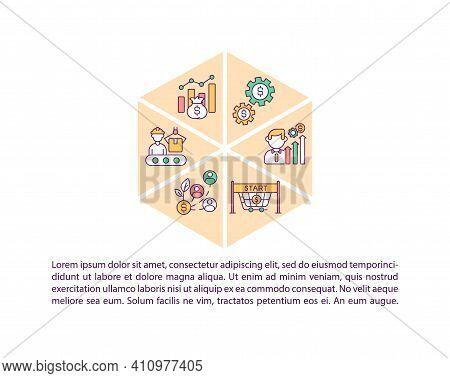 Economic Recovery Concept Icon With Text. Adjustment To Covid Pandemia Economic Conditions. Ppt Page