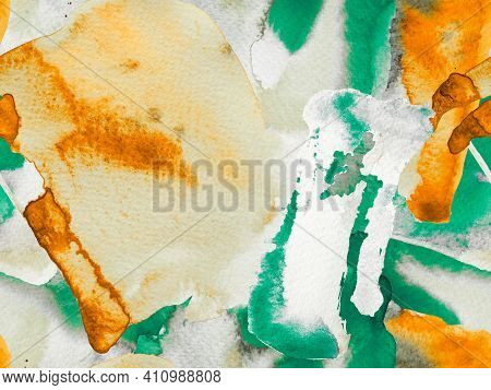 Watercolor Seamless Pattern.