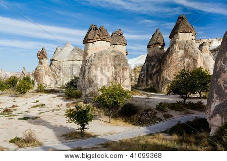 Group of fairy chimneys