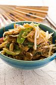 glass noodles with beef stir-fried poster