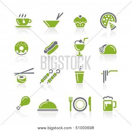 Food Icons - 2 of 2 // Natura Series