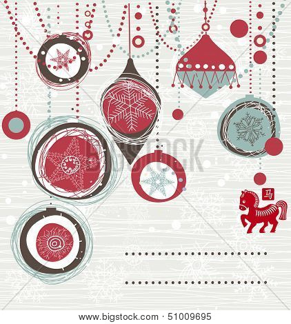 Christmas Card With Space For Your Text Or Image