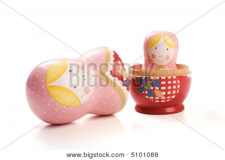 Russian Dolls One Inside The Other