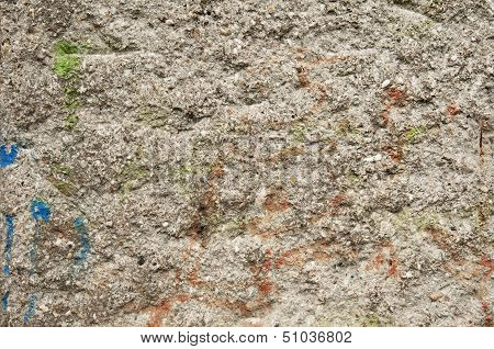 The Berlin Wall, Texture