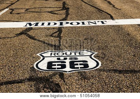 Midpoint For Route 66