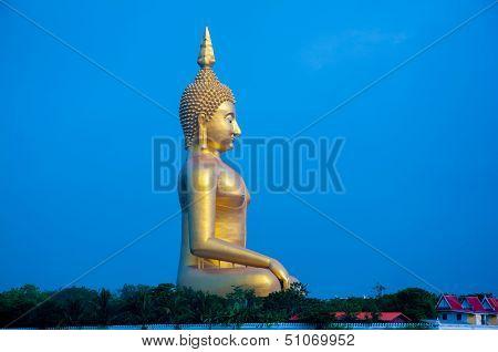 Biggest buddha statue in Thailand