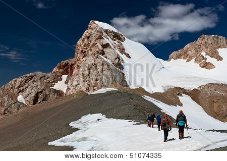 Climbing the ascent