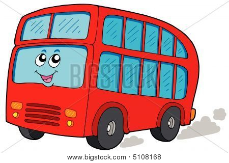 Cartoon Doubledecker